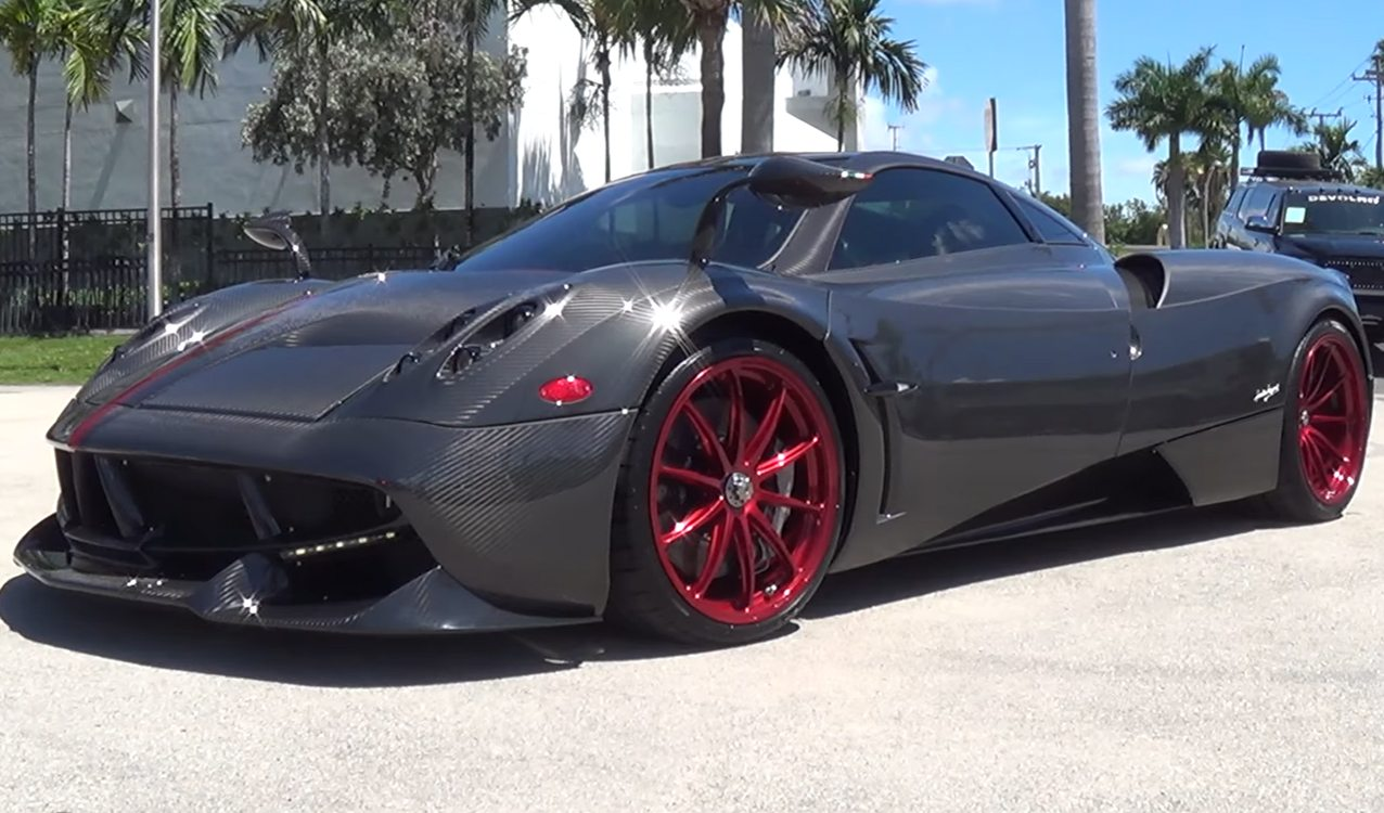 Aston Martin >> Pagani Huayra Tempesta Transformation by Pagani Miami
