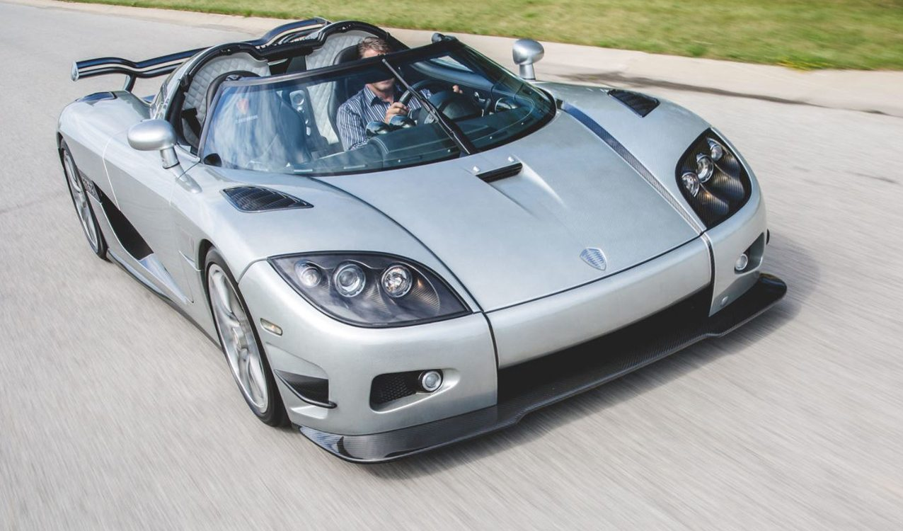 Koenigsegg Ccxr Trevita Owned By Floyd Mayweather Headed