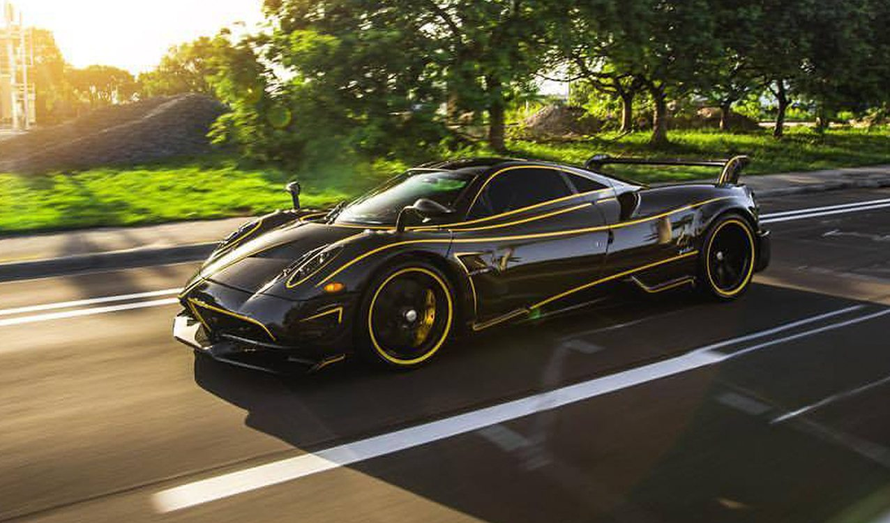 prestige imports delivers beautiful pagani huayra bc. Black Bedroom Furniture Sets. Home Design Ideas