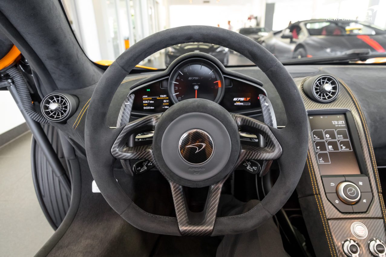 Mso Quot Papaya Spark Quot Mclaren 675lt Spider For Sale By