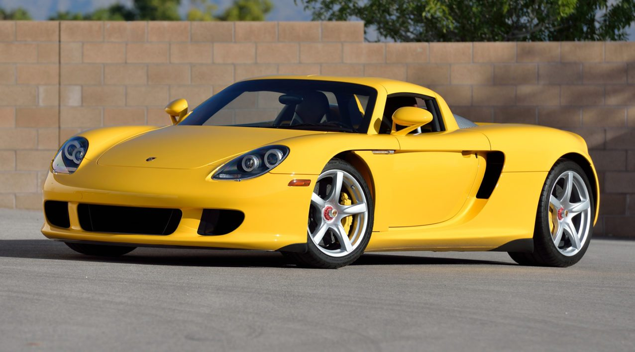 2005 porsche carrera gt heading to auction. Black Bedroom Furniture Sets. Home Design Ideas