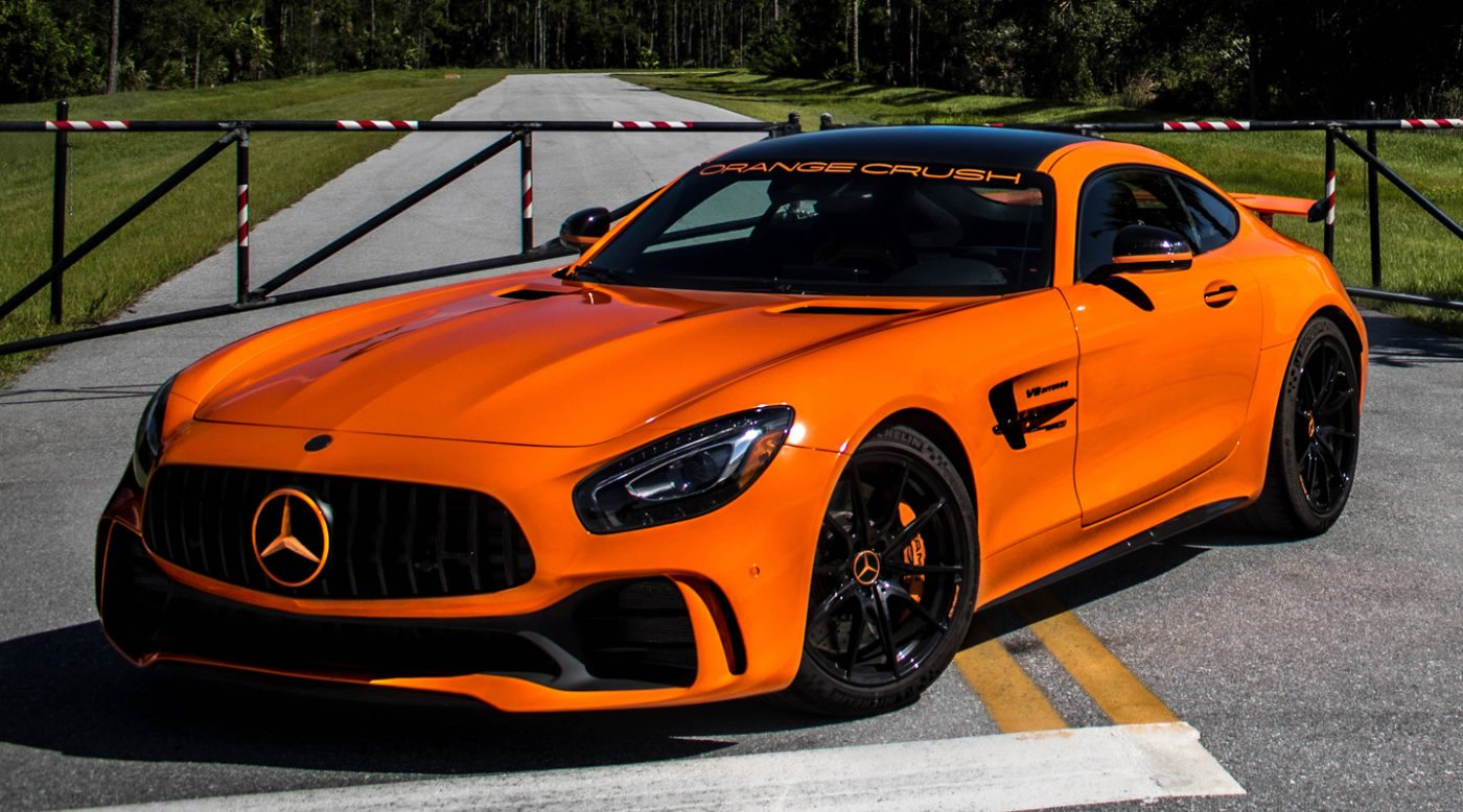 Renntech Amg Gt R The Orange Beast