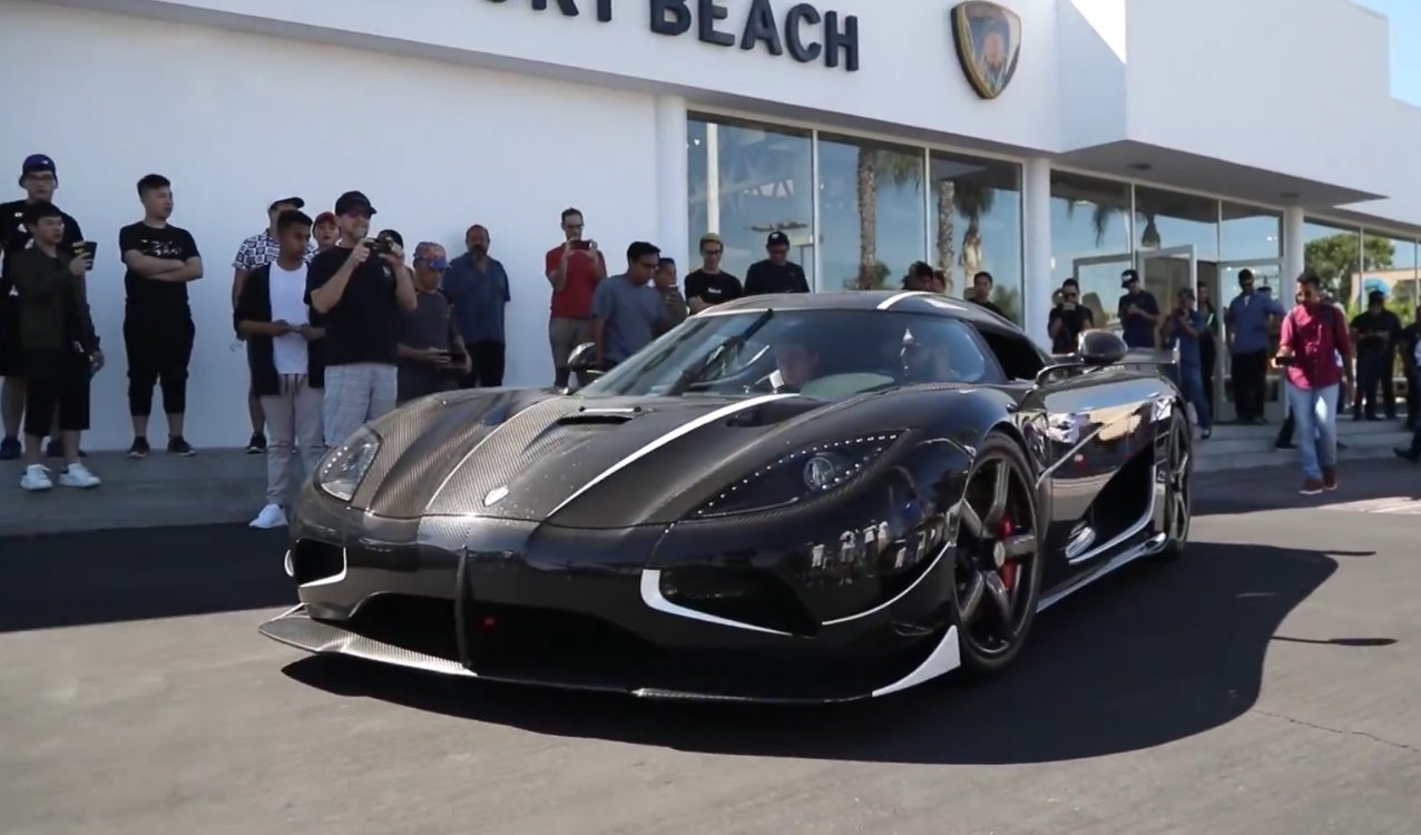 On October 7, In The Parking Lot Of Lamborghini Newport Beach, Supercars  And Hypercars Gathered For The Dealershipu0027s Latest Edition Of Their  Supercar Show ...