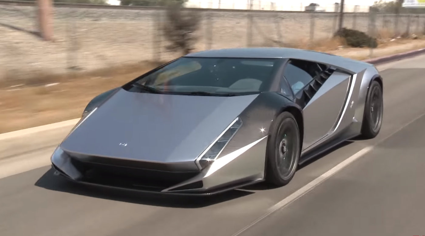 Jay Leno Test Drives The Kode 0 Supercar