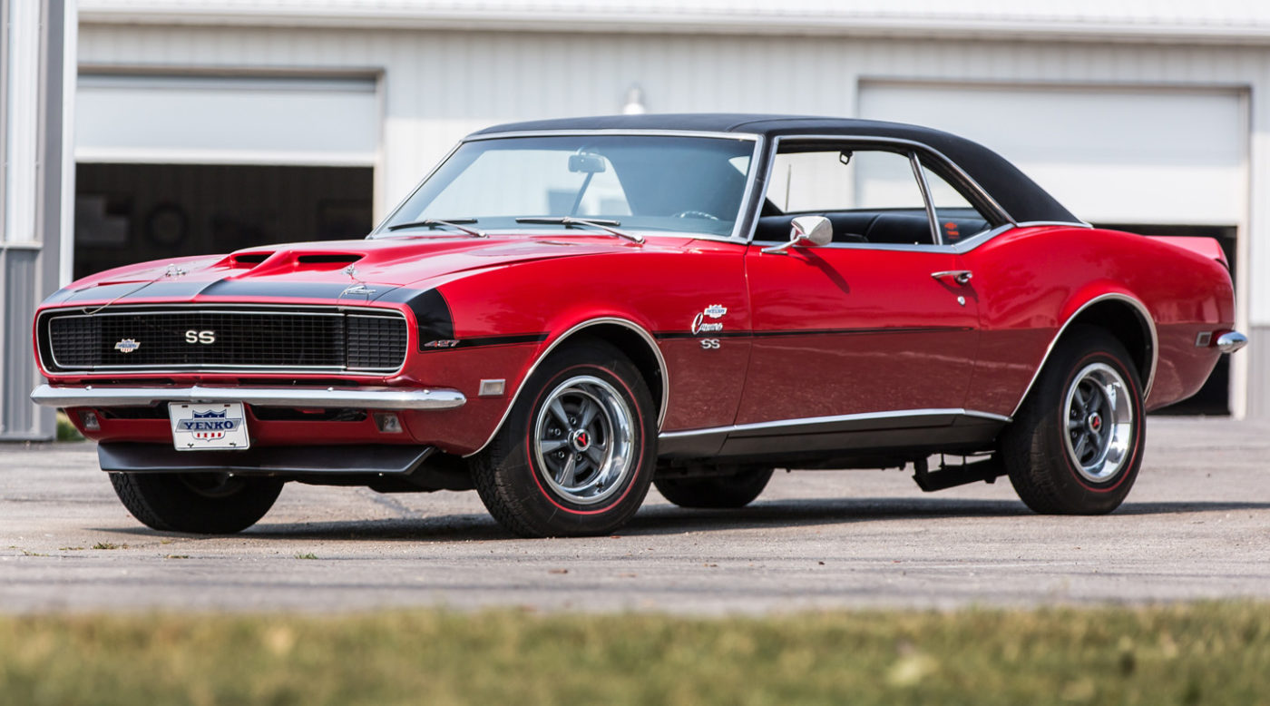 1 Of 11 1968 Yenko Rs Ss Camaro Heading To Florida Auction