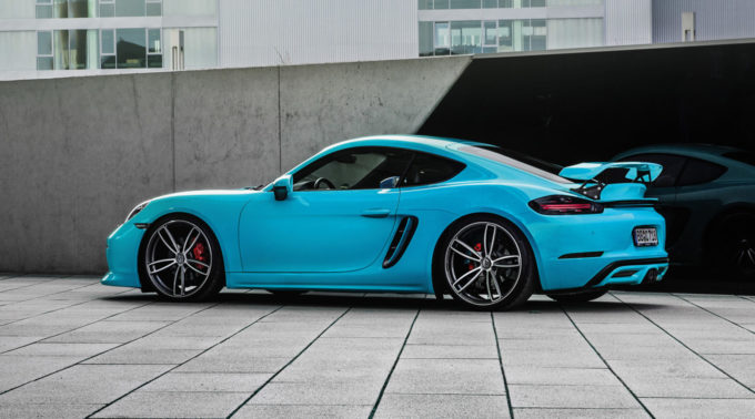 TECHART Introduces Performance Kit for 718 Cayman and Boxster