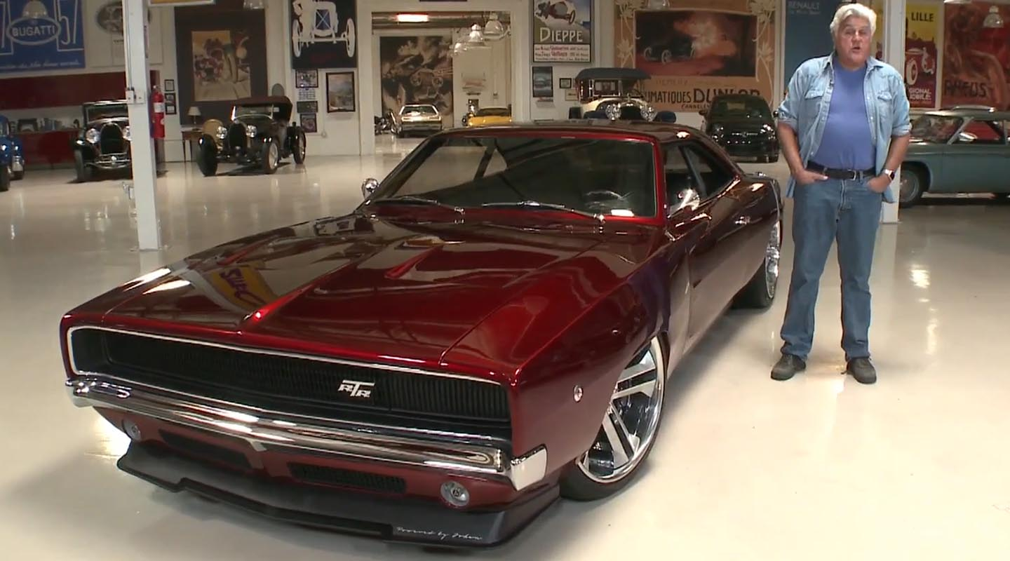 Mustang 2018 Rtr >> Viper-Powered 1968 Dodge Charger RTR on Jay Leno's Garage