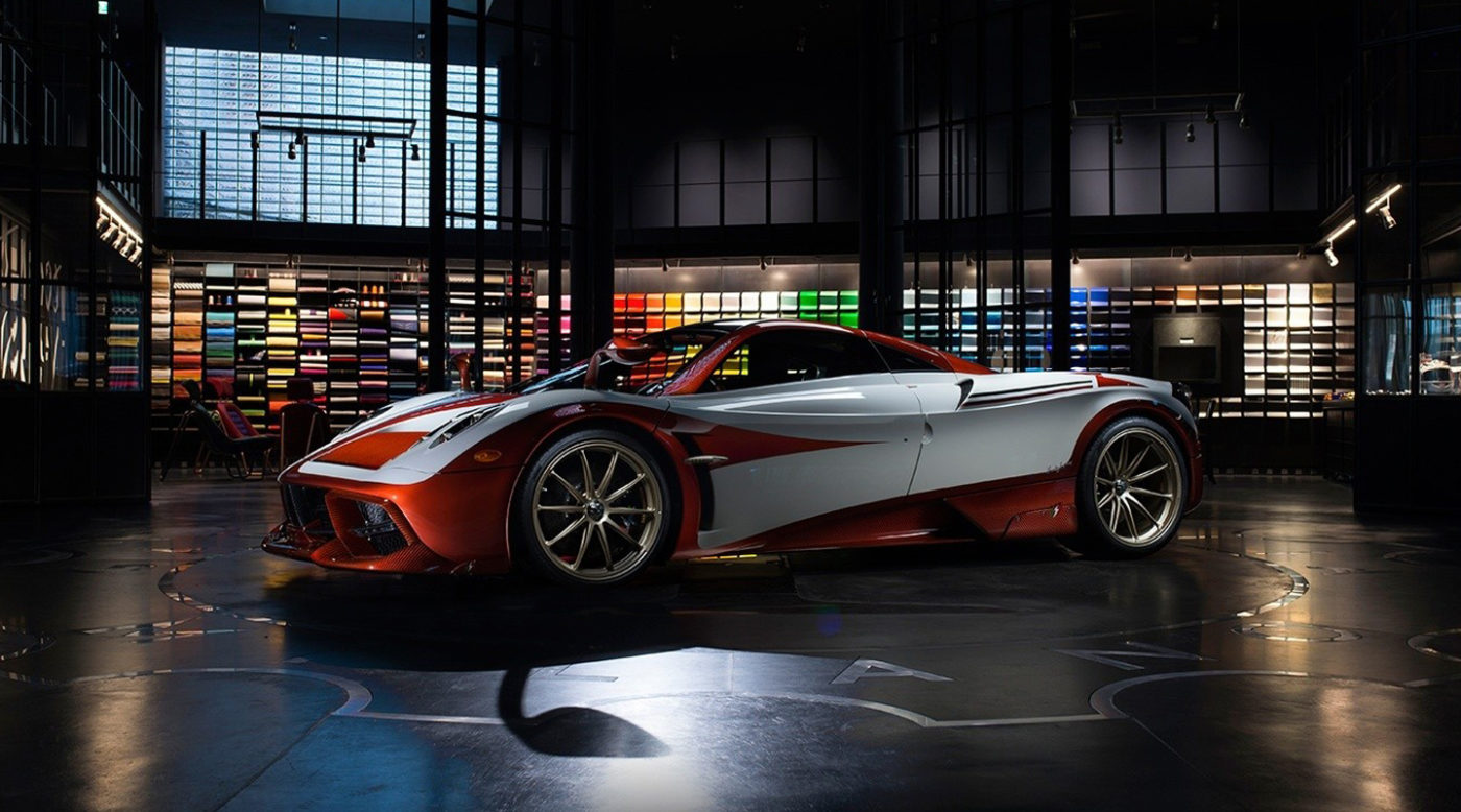 Pagani Huayra Lampo Takes Inspiration from Old Fiat