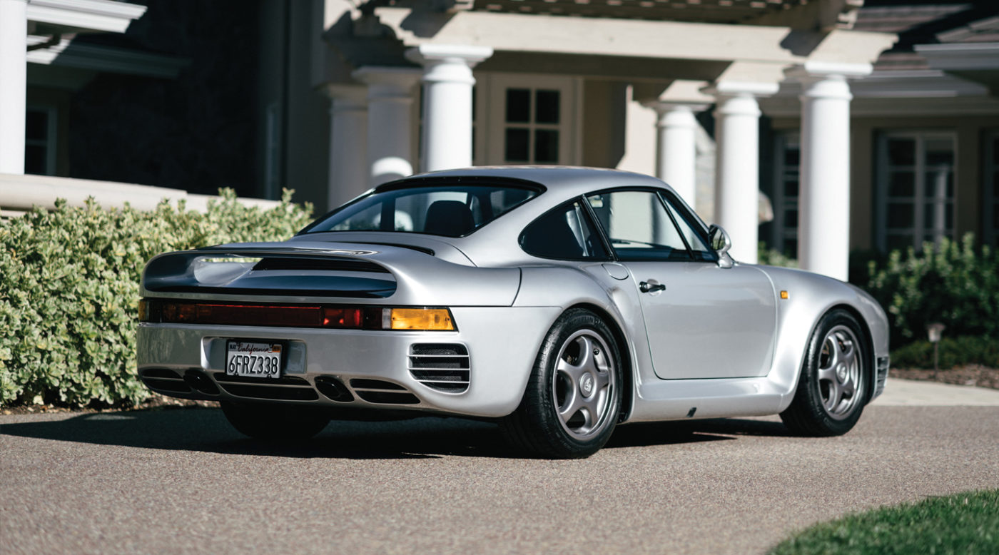Porsche 959 For Sale >> Rm Sotheby S Offering 1987 Porsche 959 Komfort