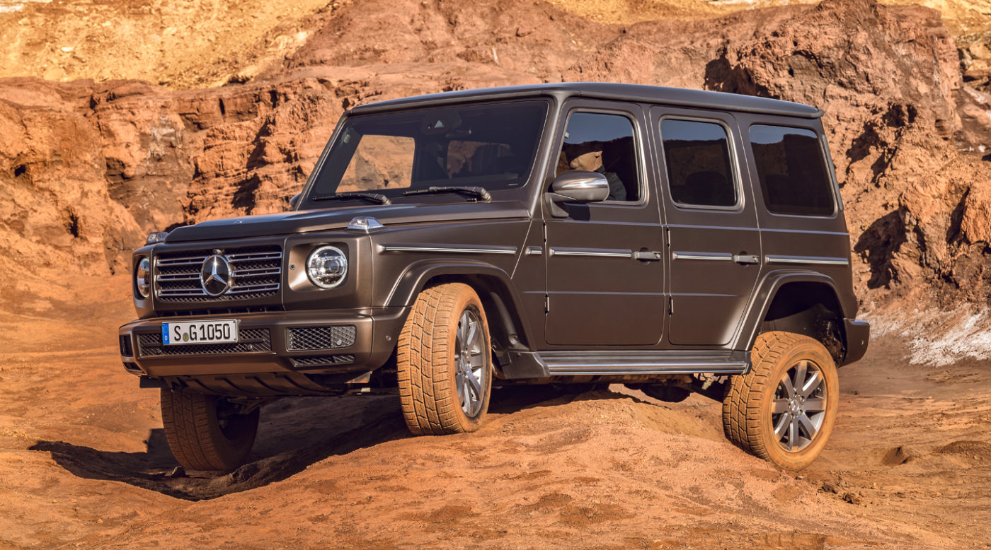 2019 mercedes benz g class unveiled in its entirety for Mercedes benz g series for sale