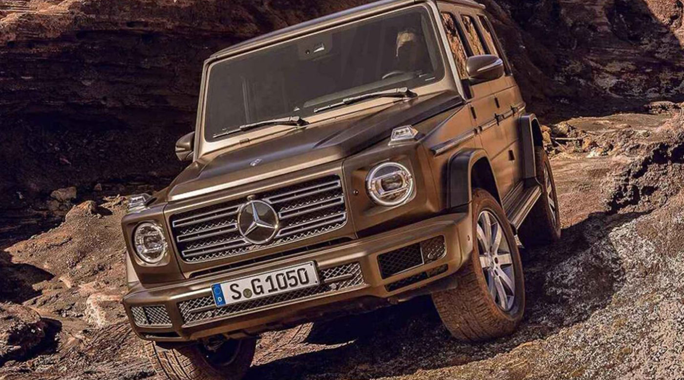 Final Design for 2019 Mercedes-Benz G-Class Leaked