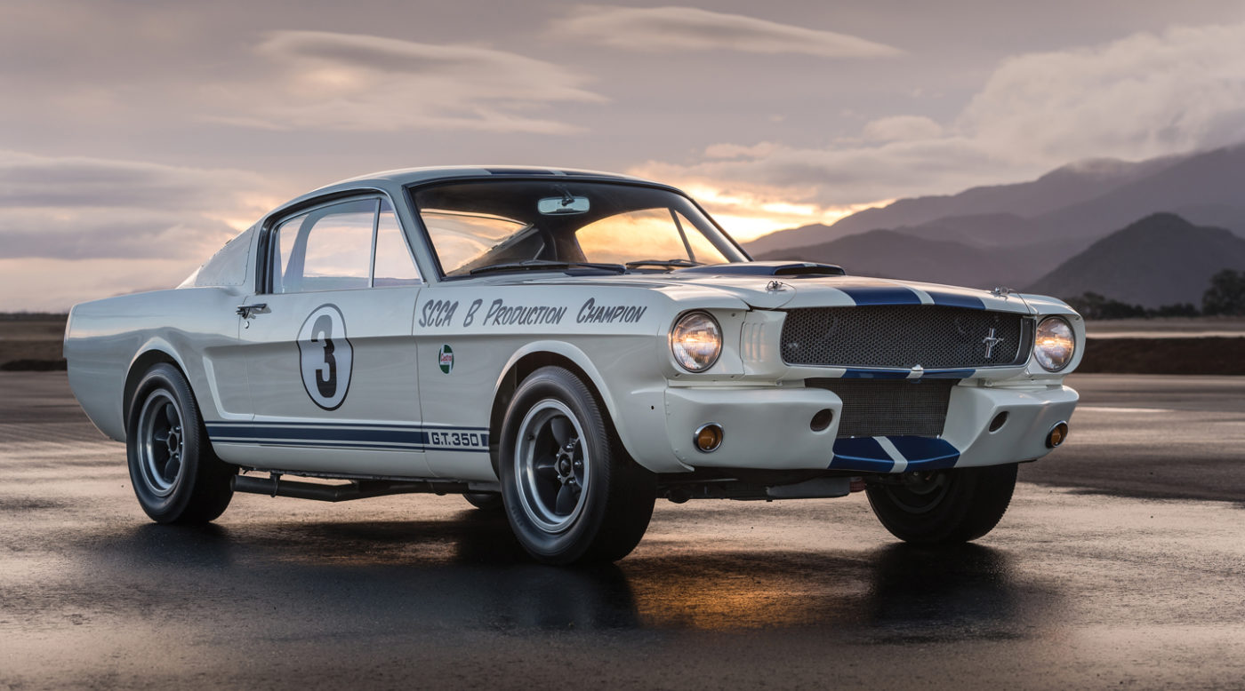 Headed To Rm Sotheby S Auction Rare 1965 Shelby Gt350 R