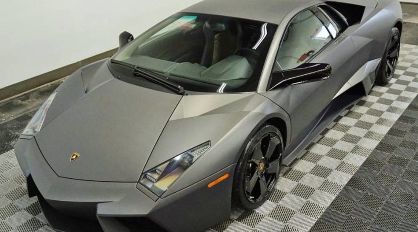 last lamborghini reventon built is up for sale. Black Bedroom Furniture Sets. Home Design Ideas