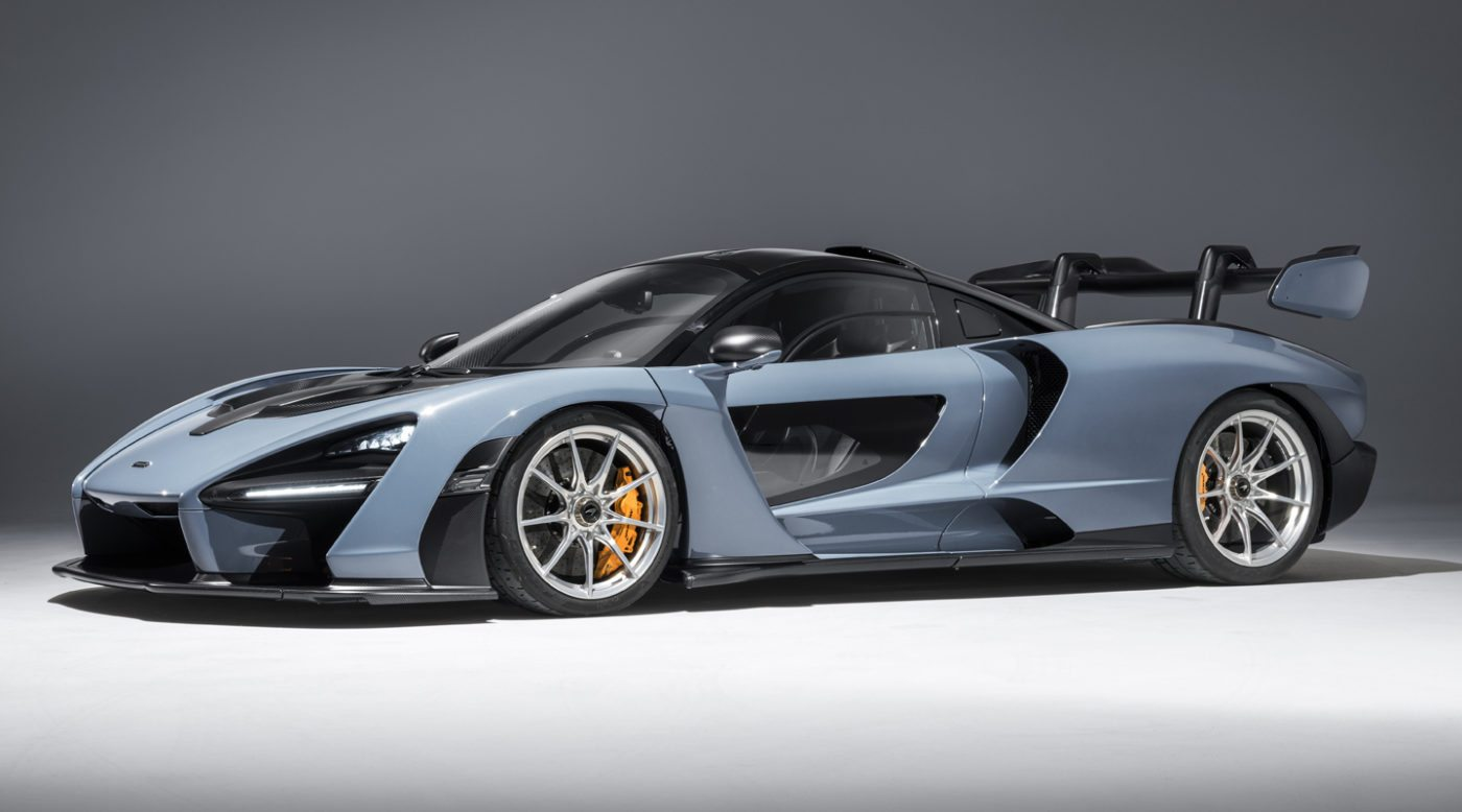 When The McLaren Senna Was Unveiled At The End Of 2017, We Were Presented  With A Few Things: An Orange Variant Of The Car, Its Power Output, Price  And How ...