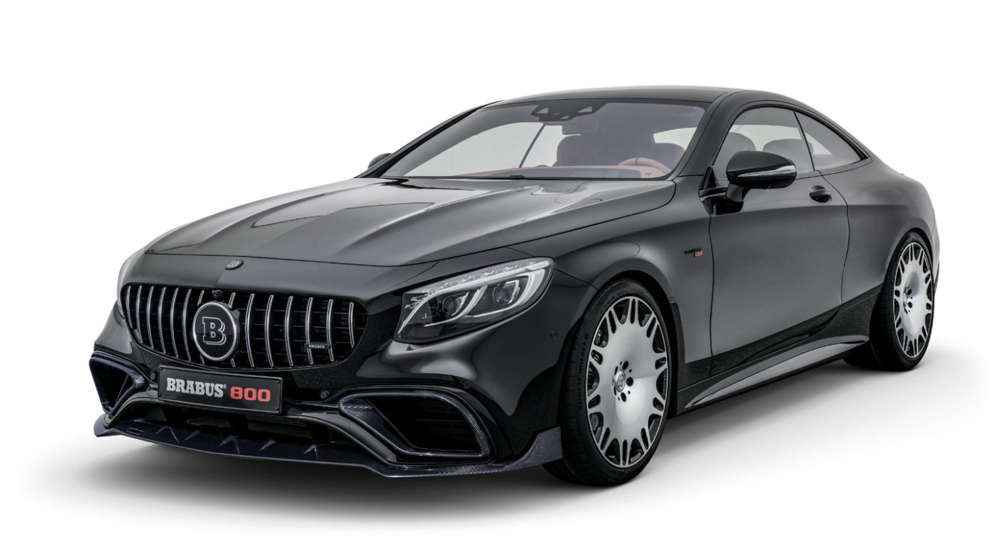 2018 Brabus 800 Coupe An S63 Taken To The Limit