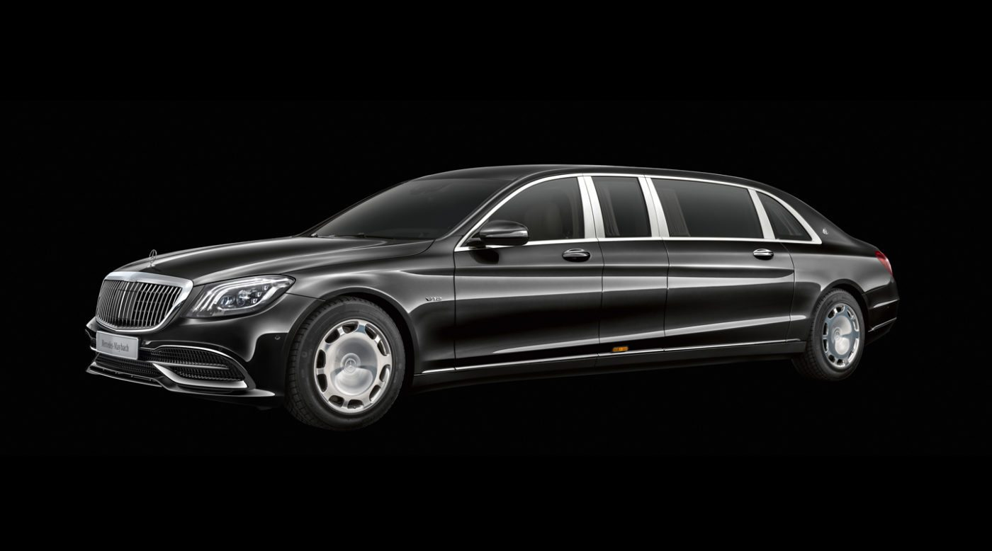 2019 Mercedes-Maybach Pullman: Limo Built for Royalty