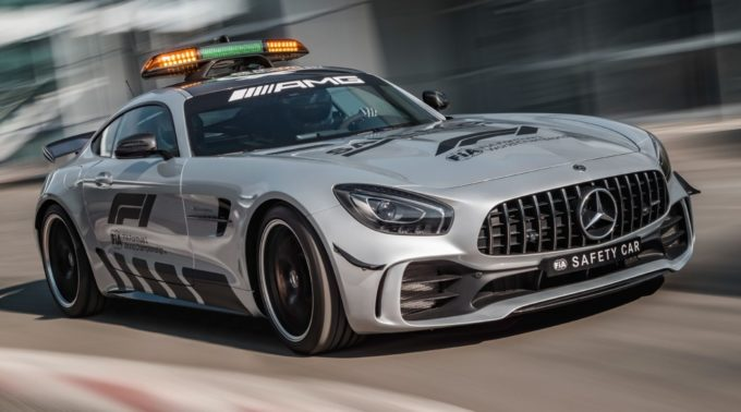 2018 Mercedes-AMG GT R Becomes Fastest F1 Safety Car
