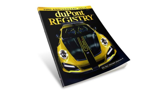 duPont REGISTRY April 2018 Uncovered – 33rd Anniversary Issue