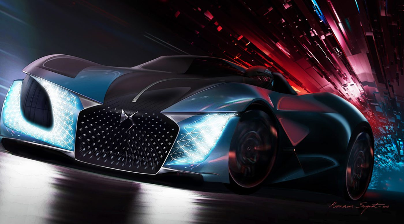 Ds X E Tense Is A Hypercar For The Future