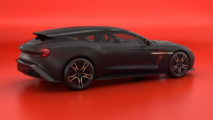 New Aston Martin Vanquish Zagato Shooting Brake Colors