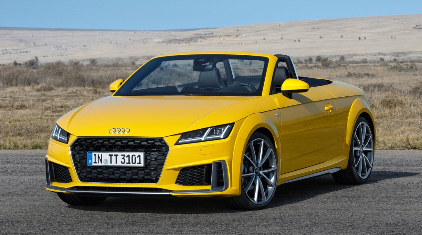 2019 audi tt unveiled with facelift. Black Bedroom Furniture Sets. Home Design Ideas