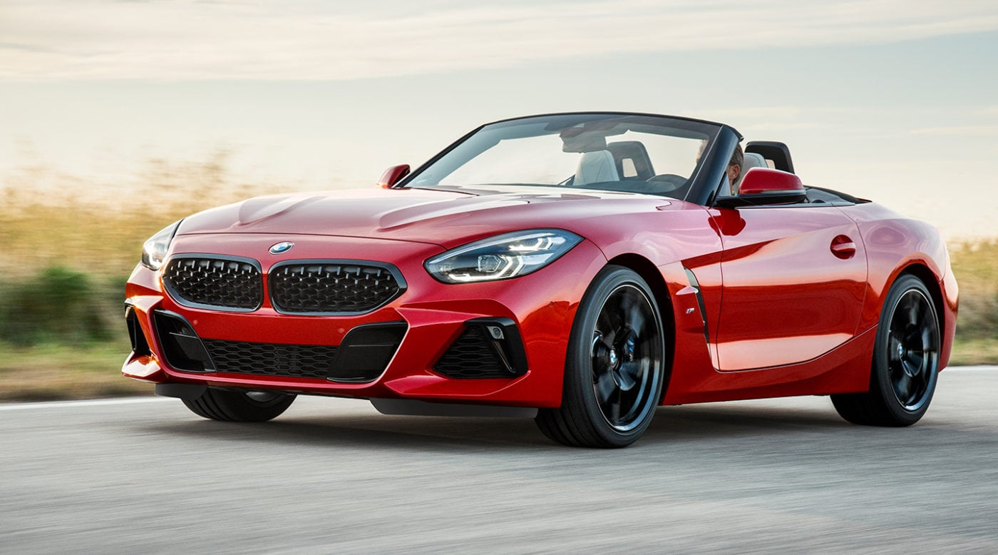 Next Gen 2019 Bmw Z4 Roadster Is Finally Uncovered