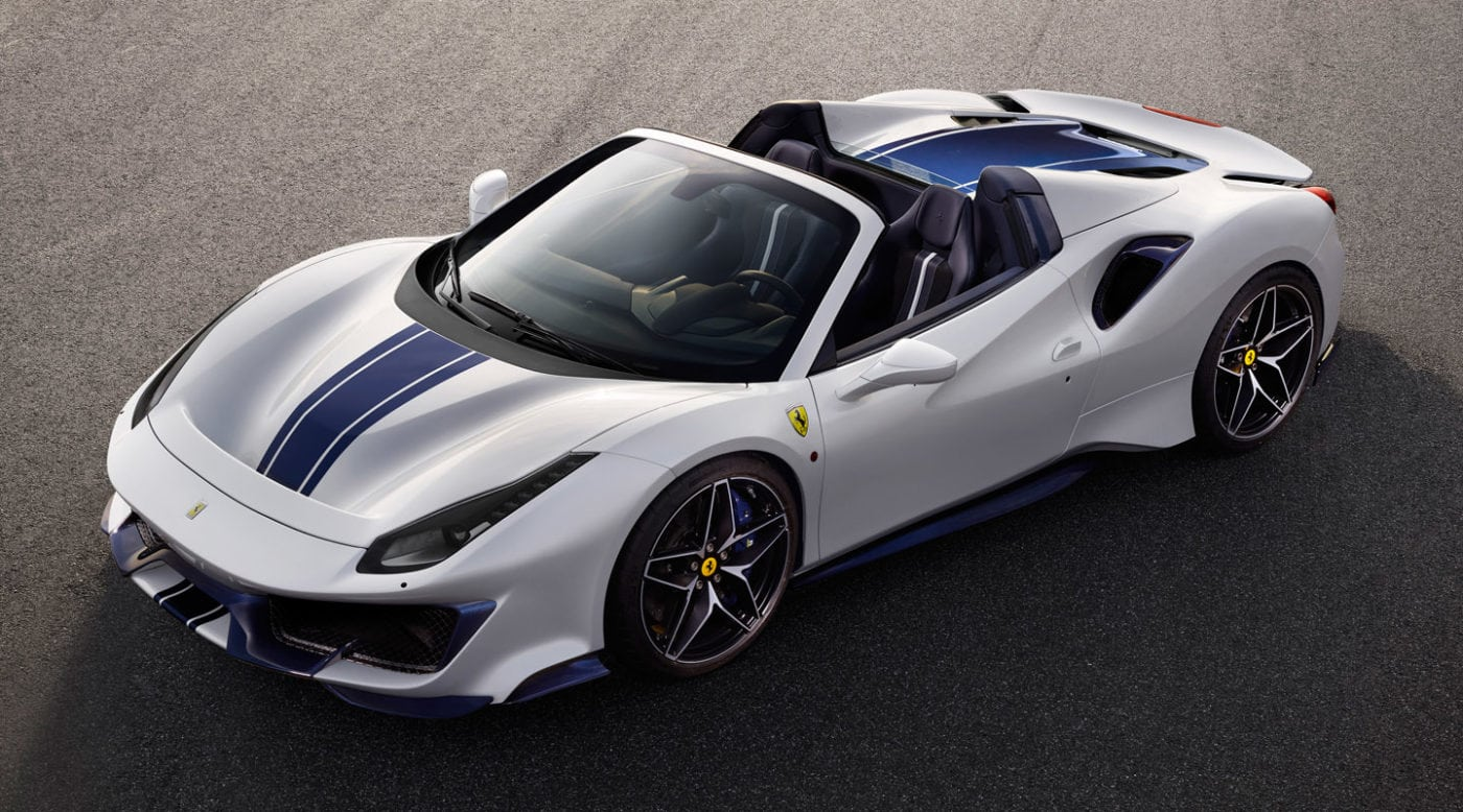 Bmw The Woodlands >> Ferrari Unveils 488 Pista Spider at Pebble Beach