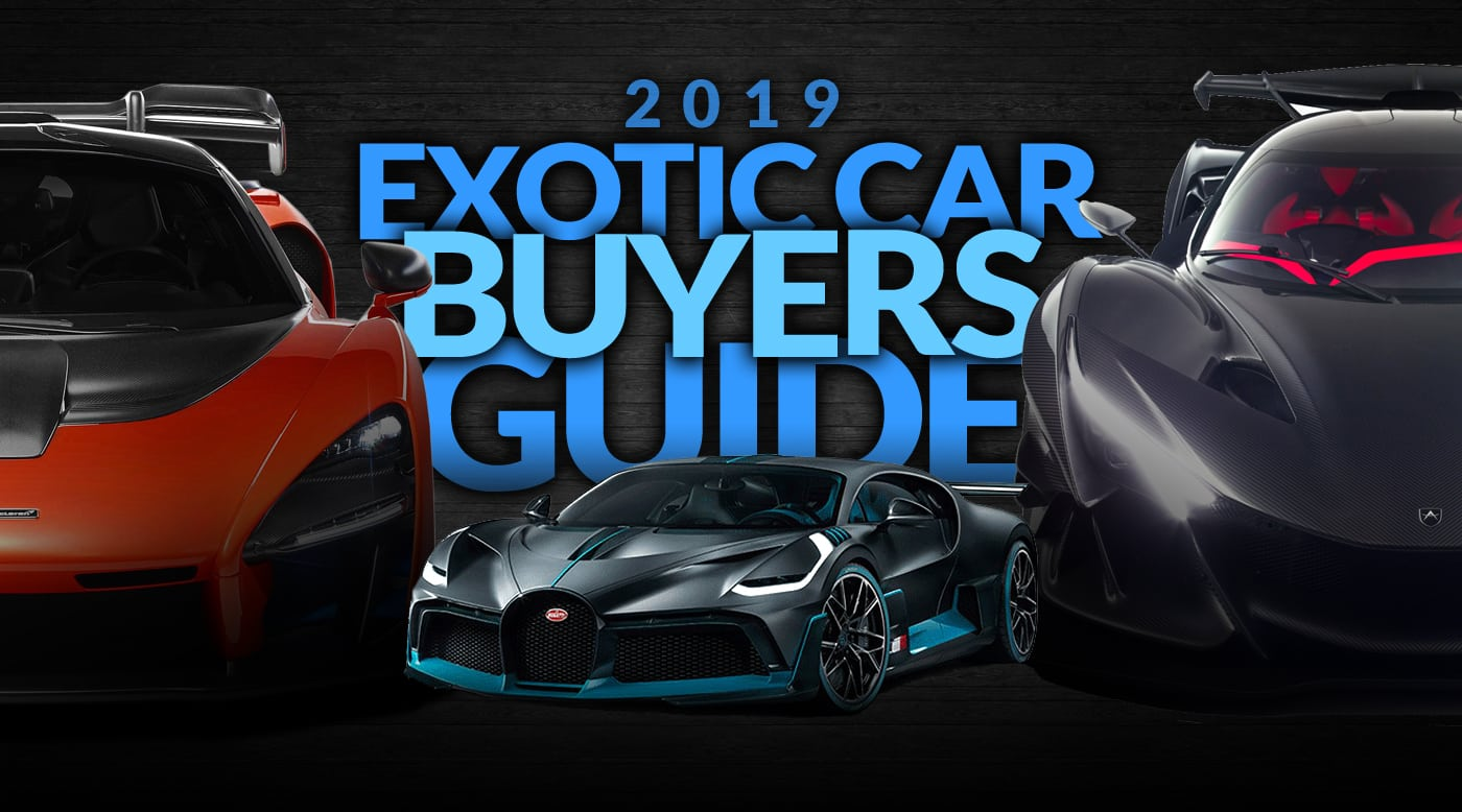 Luxury Cars 2019: DuPont REGISTRY Exotic Car Buyer's Guide 2019 Preview