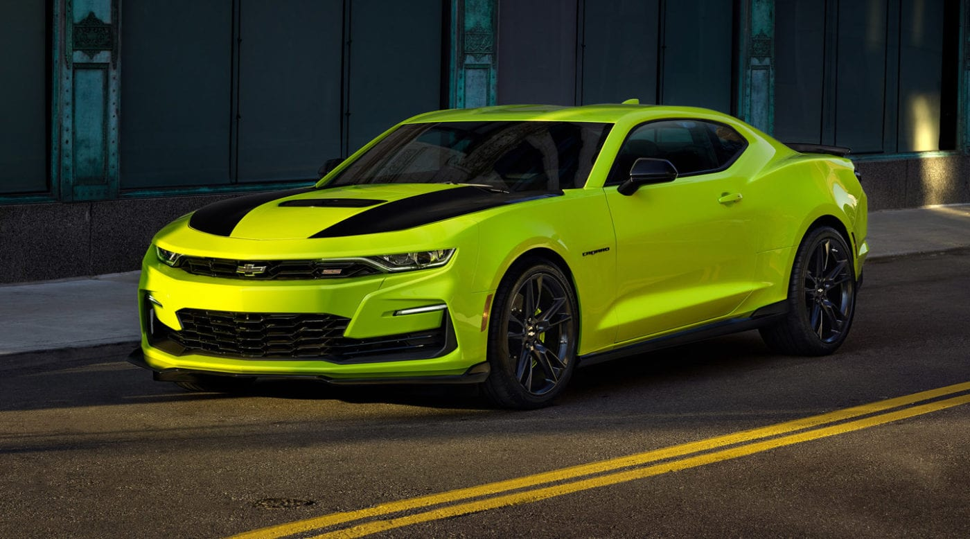 Quot Shock Yellow Quot Chevrolet Camaro Ss En Route To Sema