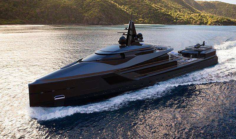 Massive 345 Foot Super Yacht Designed For Exploration And