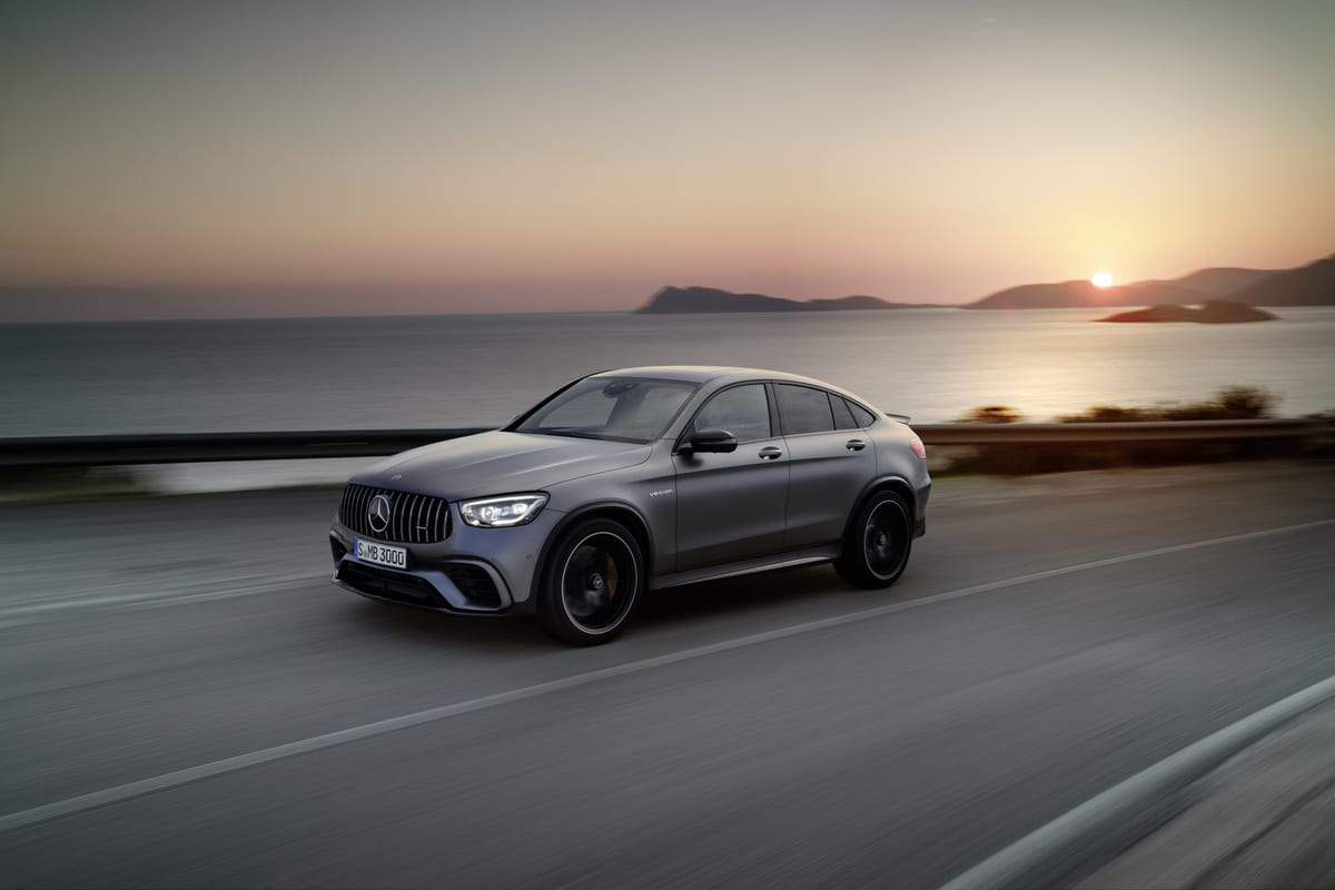 2020 Mercedes Amg Glc 63 Coupe Suv Revealed