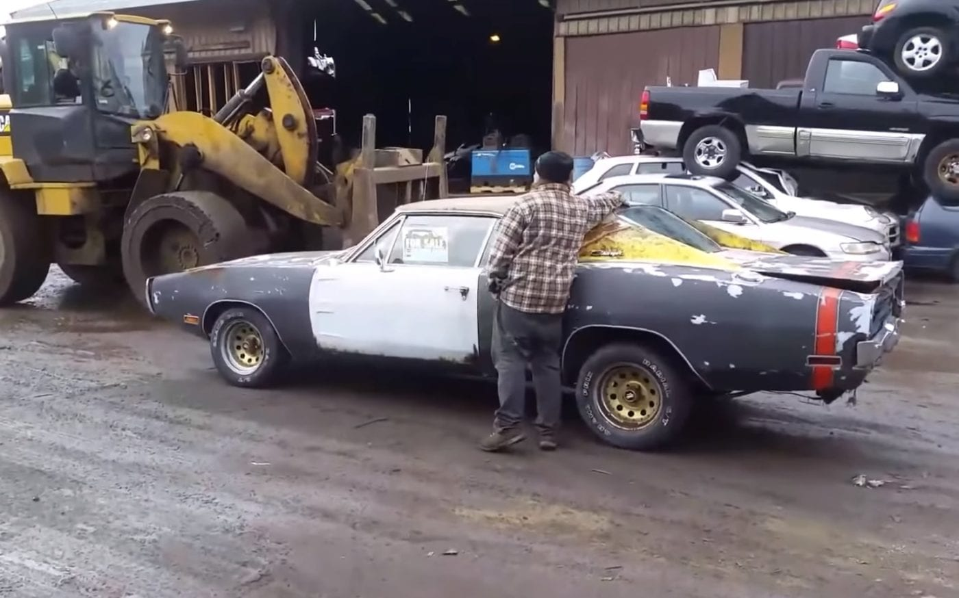 1970 Dodge Charger R/T Crushed by Angry Seller