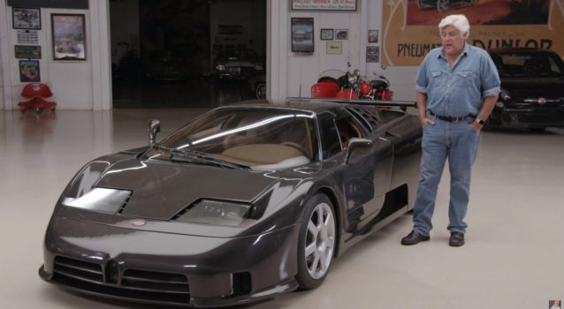 Jay Leno Drives Bugatti EB110 Super Sport