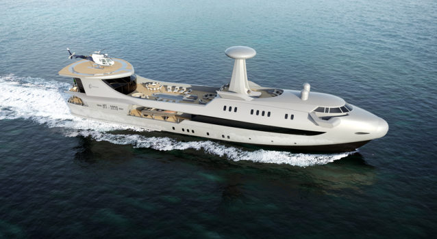 Codecasa Unveils New Incredible Yacht Inspired by Aviation