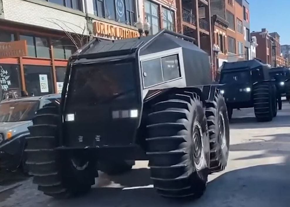 Kanye West Took Over Chicago In Russian Atvs For A Good Reason
