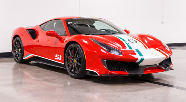 2019 Ferrari 488 Pista Piloti For Sale