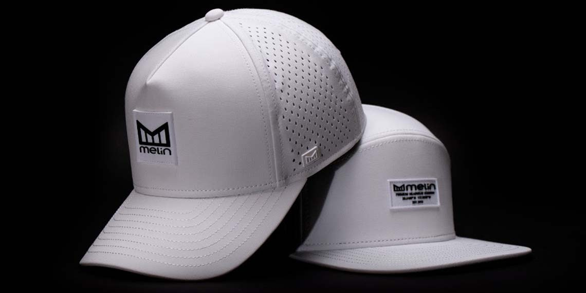 """Melin Premium Headwear Introduces """"The White Branded Pack Limited Release"""""""