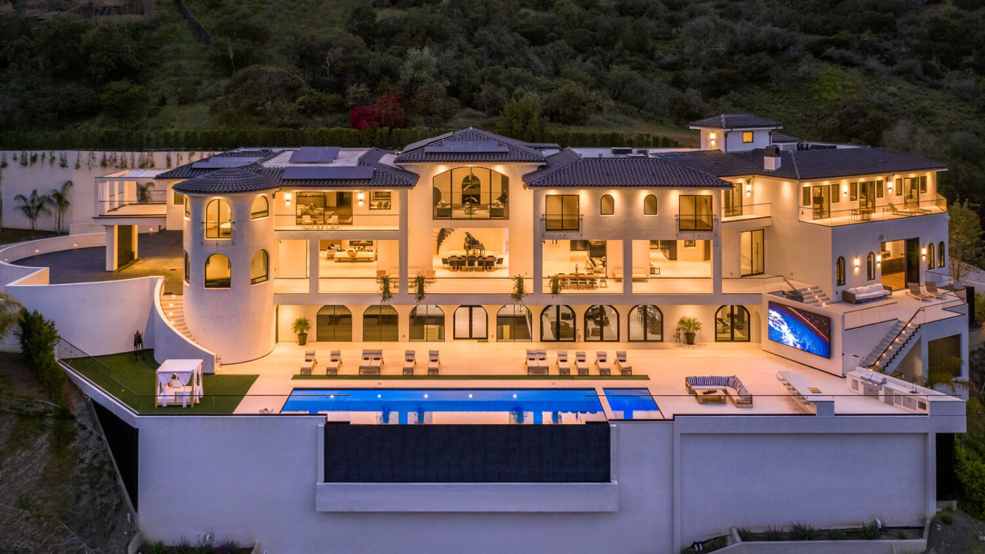 $100 Million Bel Air Estate is Most Expensive New Listing
