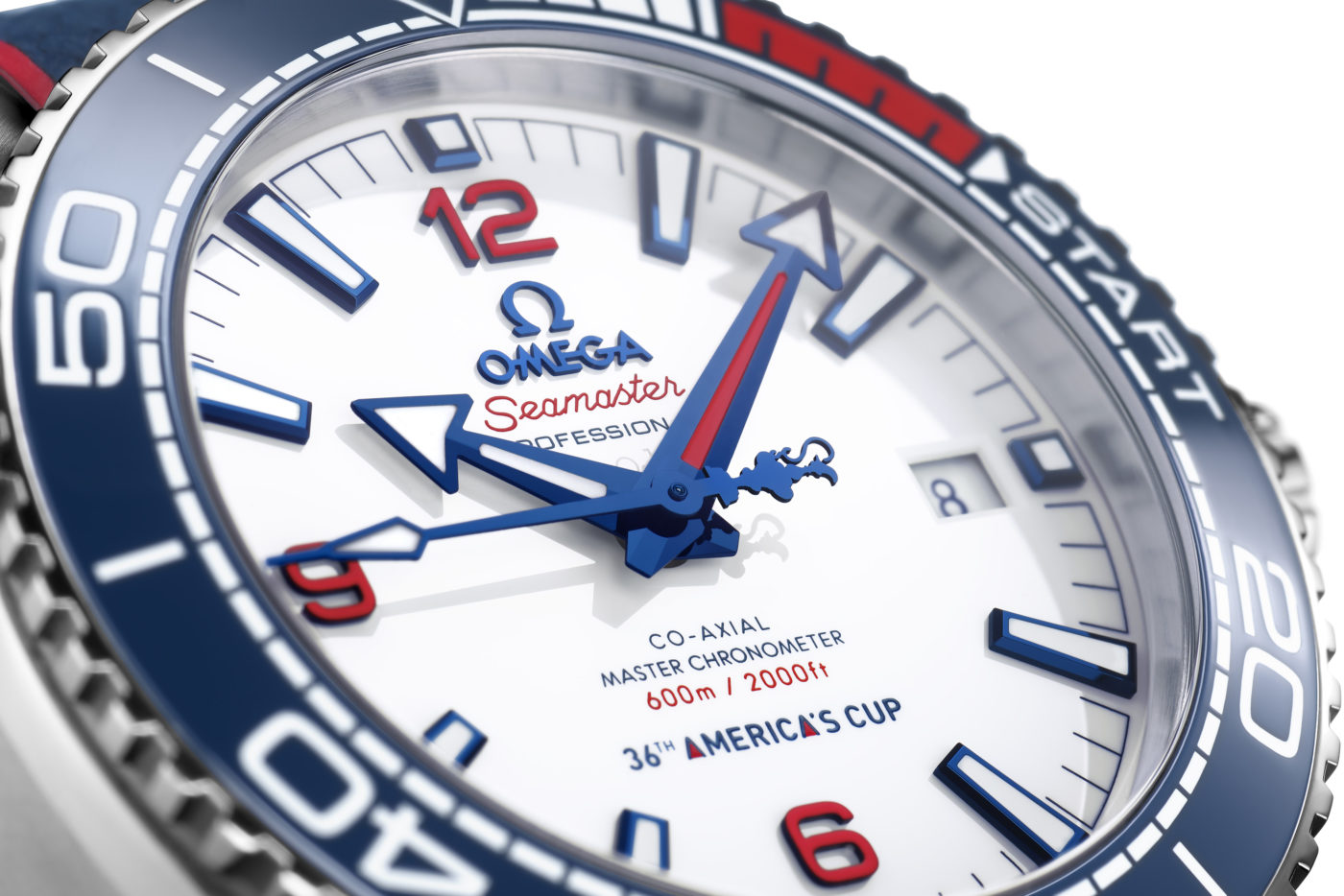 OMEGA Seamaster Planet Ocean 36th America's Cup Announced