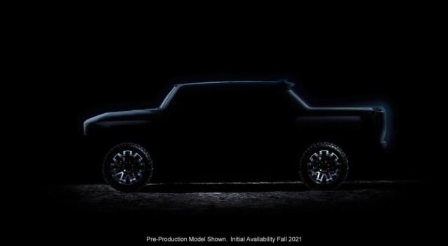 New 2022 GMC Hummer EV Teaser Announces Fall Unveiling