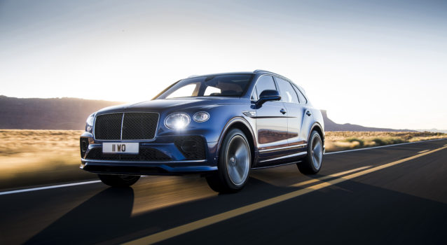 2021 Bentley Bentayga Speed is for Fast Families