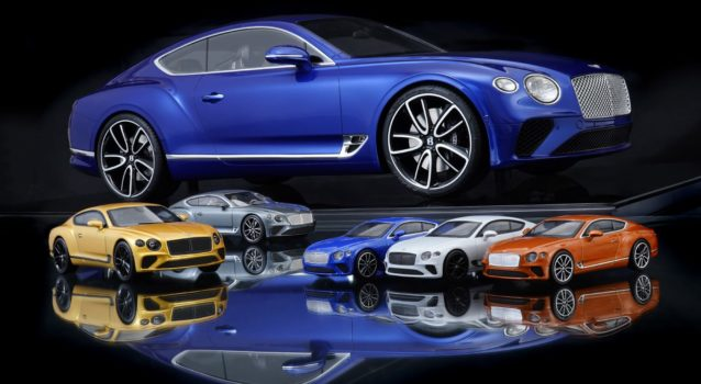 New Bentley Continental GT Bespoke Model is Made of Over 1,000 Pieces