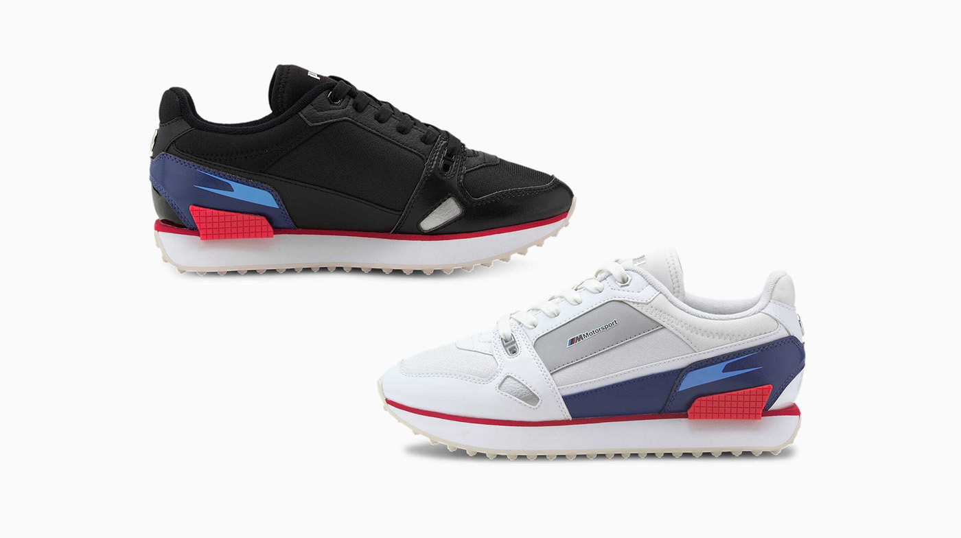 PUMA Motorsport Releases The BMW M Motorsport Mile Rider Sneaker