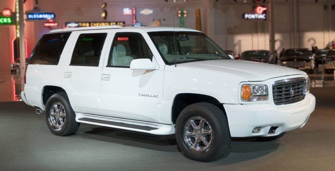 The very first Cadillac Escalade resides in GM's heritage fleet.