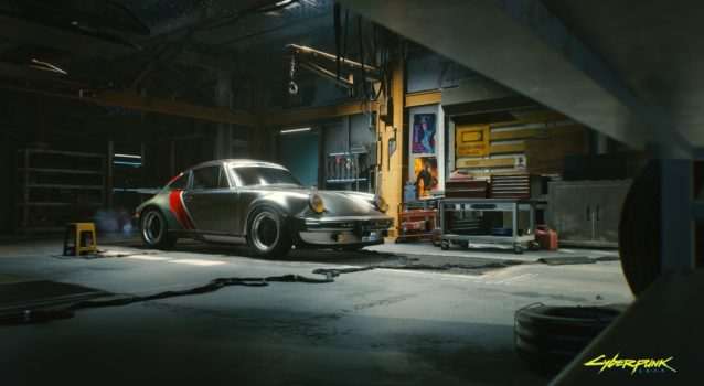 Cyberpunk 2077 to Feature a Classic Porsche 911 and Keanu Reeve's Arch Motorcycles
