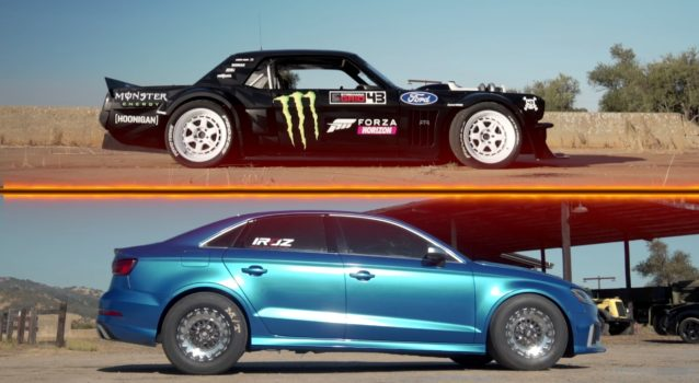 Hoonicorn Mustang vs. 8-Second Audi RS3
