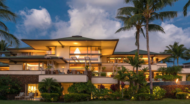 Home of the Day: Frank Lloyd Wright-Inspired Hawaiian Resort Home- Car News