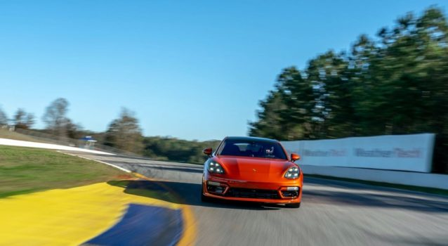 Watch The 2021 Porsche Panamera Turbo S Dominate Road Atlanta