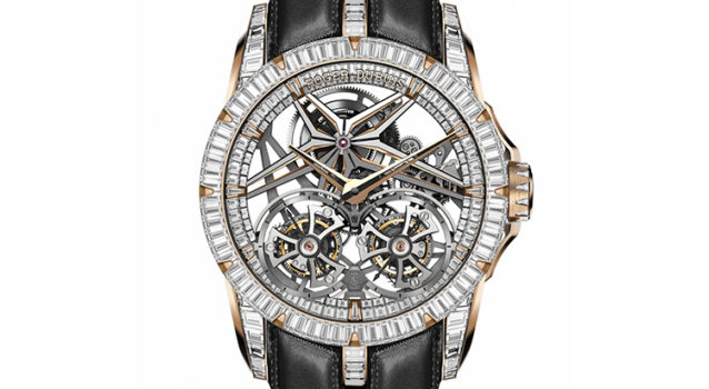Roger Dubuis Releases A Limited Edition Excalibur Double Flying Tourbillon Collection.