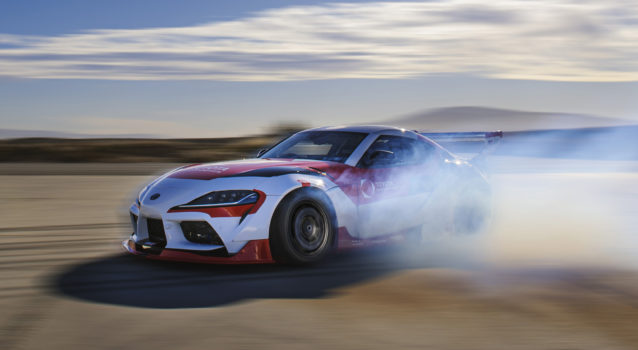 Self-Drifting Toyota Supra Gets Sideways for a Good Reason